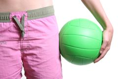 Volleyball player Royalty Free Stock Image
