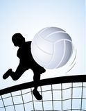 Volleyball player Stock Image