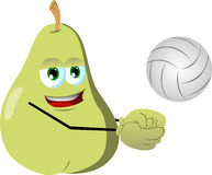 Volleyball player pear Royalty Free Stock Photos