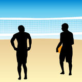 Volleyball Players Stock Photography
