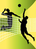 Volleyball players Royalty Free Stock Photography