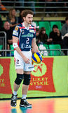 Volleyball Polish cup finals royalty free stock images