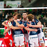 Volleyball Polish cup finals Stock Photo