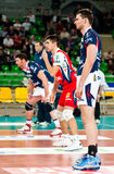 Volleyball Polish cup finals royalty free stock photos