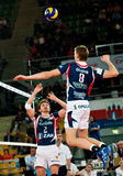 Volleyball Polish cup finals royalty free stock photography