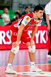 Volleyball Polish cup finals Stock Images