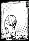 Volleyball Poster Stock Images