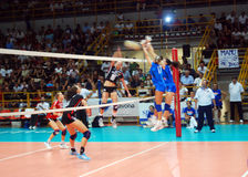 Volleyball: Preolympic Test Match Royalty Free Stock Photography