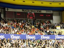 Volleyball - Publiek Royalty-vrije Stock Foto