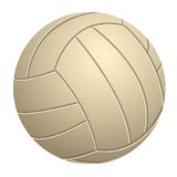 Volleyball. Realistic volleyball on a white background; Vector illustration stock illustration