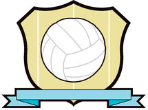 Volleyball Shield Royalty Free Stock Images