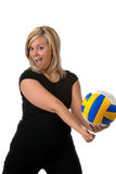 Volleyball-Spieler Stockbilder