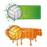 volleyball sport Royalty Free Stock Photos