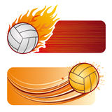 volleyball sport Stock Image
