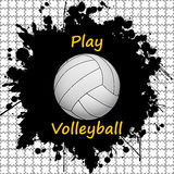 Volleyball-sport-background Royalty Free Stock Photo