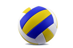 Volleyball. Standard volleyball with white background