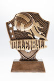 Volleyball Trophy Royalty Free Stock Photo