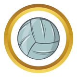 Volleyball vector icon, cartoon style Stock Photo