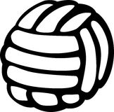 Volleyball vector illustration Royalty Free Stock Image