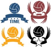 Volleyball. Vector illustration (EPS 10 Stock Photography