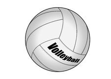 Volleyball. Vector illustration graphic Volleyball  Equipment Sports Stock Image
