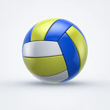 Volleyball. Volley ball on white background Stock Photos