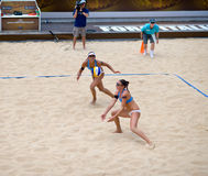 Volleyball-Weltmeisterschaft des Strand-2011 - Rom, Italien Stockfoto