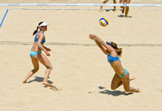 Volleyball-Weltmeisterschaft des Strand-2011 - Rom, Italien Stockfotos