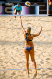 Volleyball-Weltmeisterschaft des Strand-2011 - Rom, Italien Lizenzfreie Stockbilder