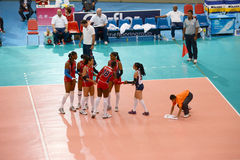 Volleyball WGP Royalty Free Stock Images