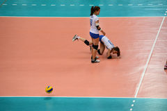 Volleyball WGP : Dominican VS Thailand Stock Photos