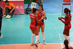 Volleyball WGP : Dominican VS Thailand Stock Photo
