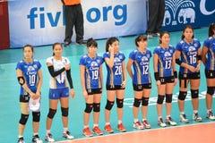 Volleyball WGP : Les Etats-Unis CONTRE thaïlandais image stock