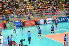 Volleyball WGP : Les Etats-Unis CONTRE thaïlandais photo libre de droits