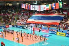 Volleyball WGP : Les Etats-Unis CONTRE thaïlandais photo stock