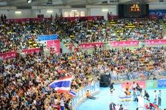Volleyball WGP : Les Etats-Unis CONTRE thaïlandais photos stock