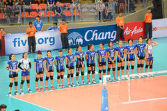 Volleyball WGP : USA VS Thai Stock Image