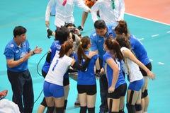 Volleyball WGP : USA VS Thai Royalty Free Stock Photo