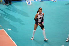 Volleyball WGP. Winifer Maria Fernandez Perez , Dominican Republic Player at Volleyball world grand prix 2014, PRELIMINARY ROUND Pools Composition - POOL A-I ( Royalty Free Stock Photos