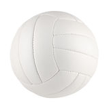 Volleyball white Stock Image