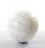 Volleyball on white background Stock Photography