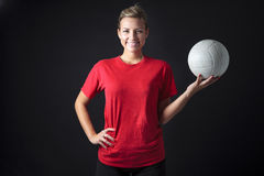 Volleyball woman Royalty Free Stock Photos