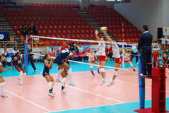 Volleyball: World Grand Prix Royalty Free Stock Photo