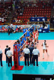 Volleyball: World Grand Prix Royalty Free Stock Photography