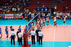 Volleyball: World Grand Prix Royalty Free Stock Photos