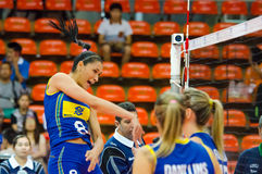 Volleyball World Grand Prix 2014 Royalty Free Stock Images