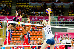 Volleyball World Grand Prix 2014 Stock Photos
