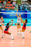 Volleyball World Grand Prix 2014 Royalty Free Stock Photo