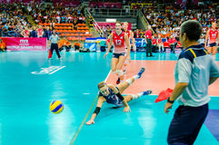 Volleyball World Grand Prix 2014 Stock Images