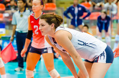 Volleyball World Grand Prix 2014 Stock Photography